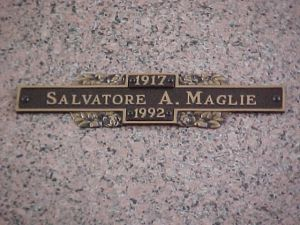 Maglie's final resting place