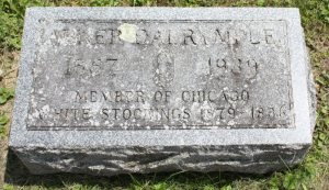 Dalrymple grave; Warren, Illinois