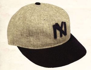 the 1911 version of the Lincoln Giants cap