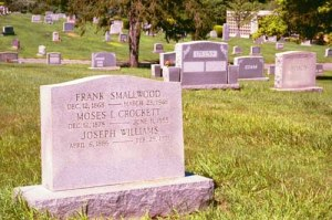 Smokey Joe Williams grave from Find A Grave